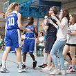 Katia Jemming (Basket Esch 4) und Basket Esch nach dem Sieg / Basketball, Mini Europe Turnier Basket Esch / 19.05.2018 / Esch-Alzette / Foto: Christian Kemp