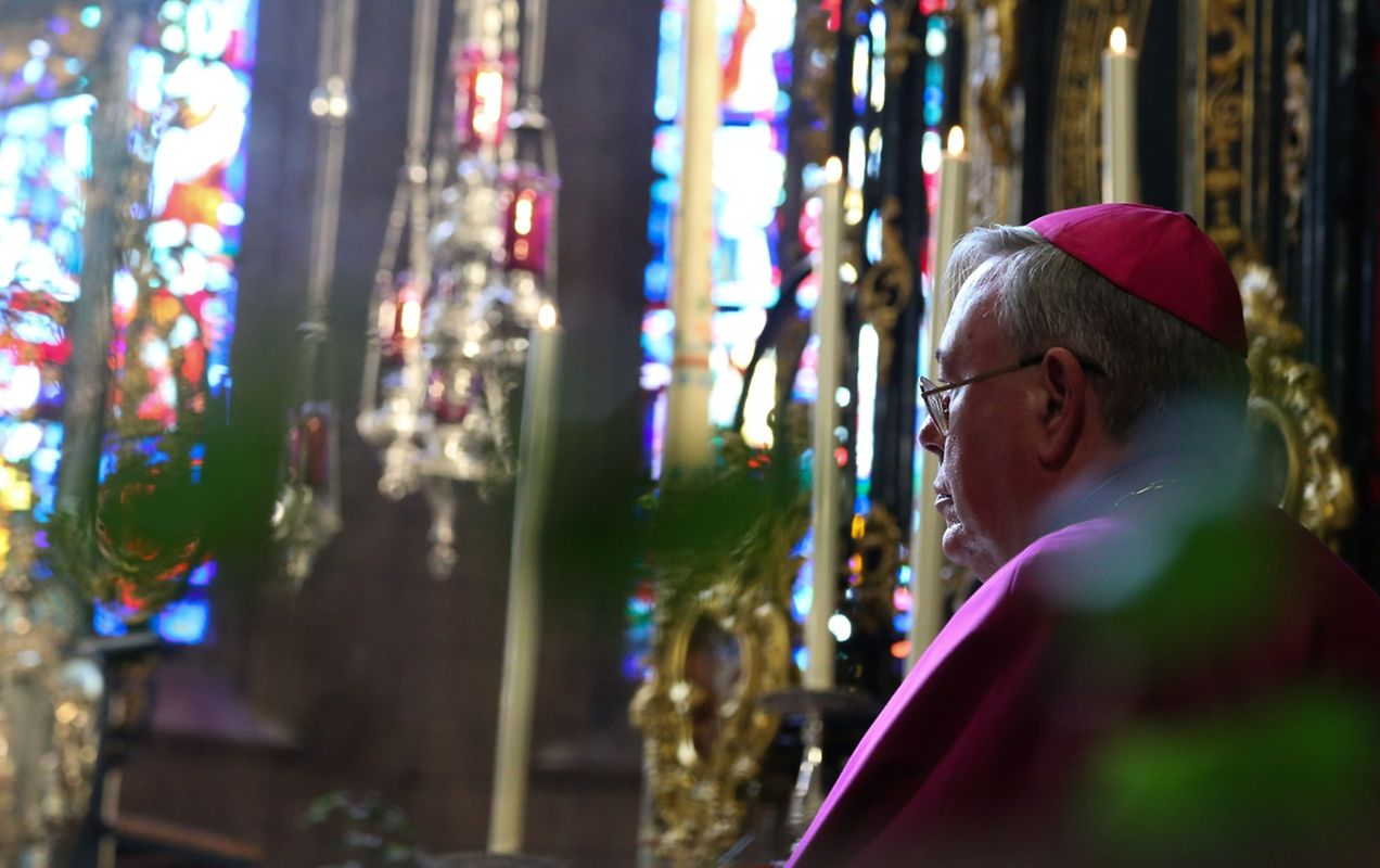 "Messe für die neue Pfarrei ""Saints-Pierre-et-Paul""(Ettelbrück)."