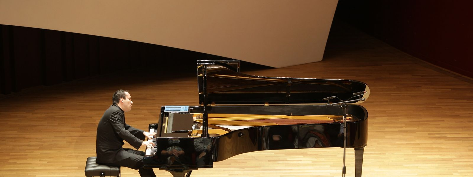 Igor Levit bei einem Konzert in der Philharmonie 2012.
