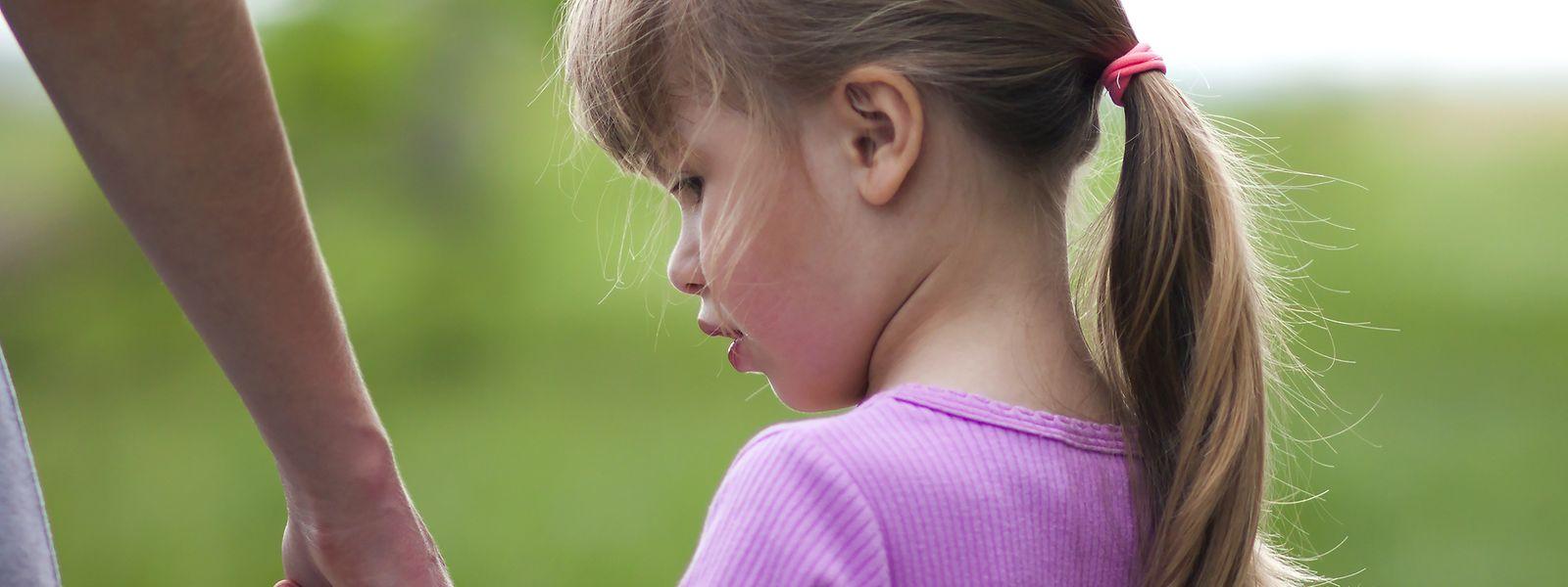 Die Kinder leiden besonders unter der Armut.