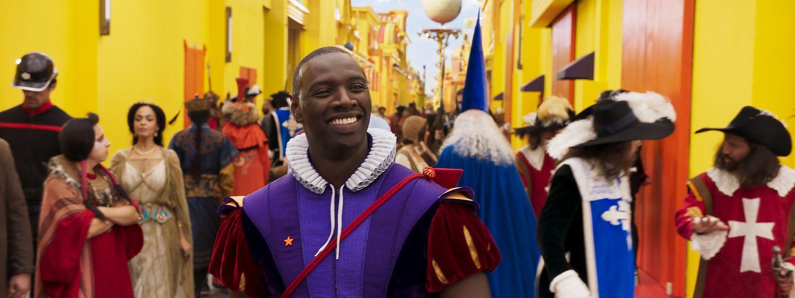 Il a beau en rire, mais Djibi (Omar Sy), prince et papa poule, va connaître une double déconfiture.