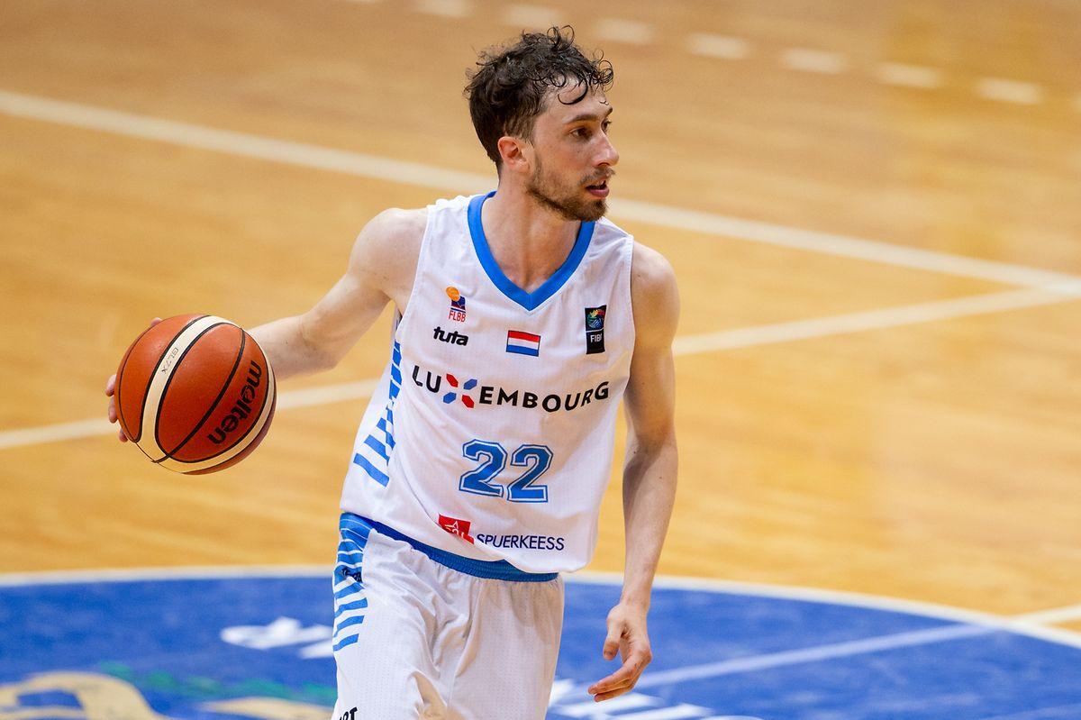Bob Melcher steht erstmals seit den Spielen der kleinen europäischen Staaten in Montenegro wieder im FLBB-Aufgebot.