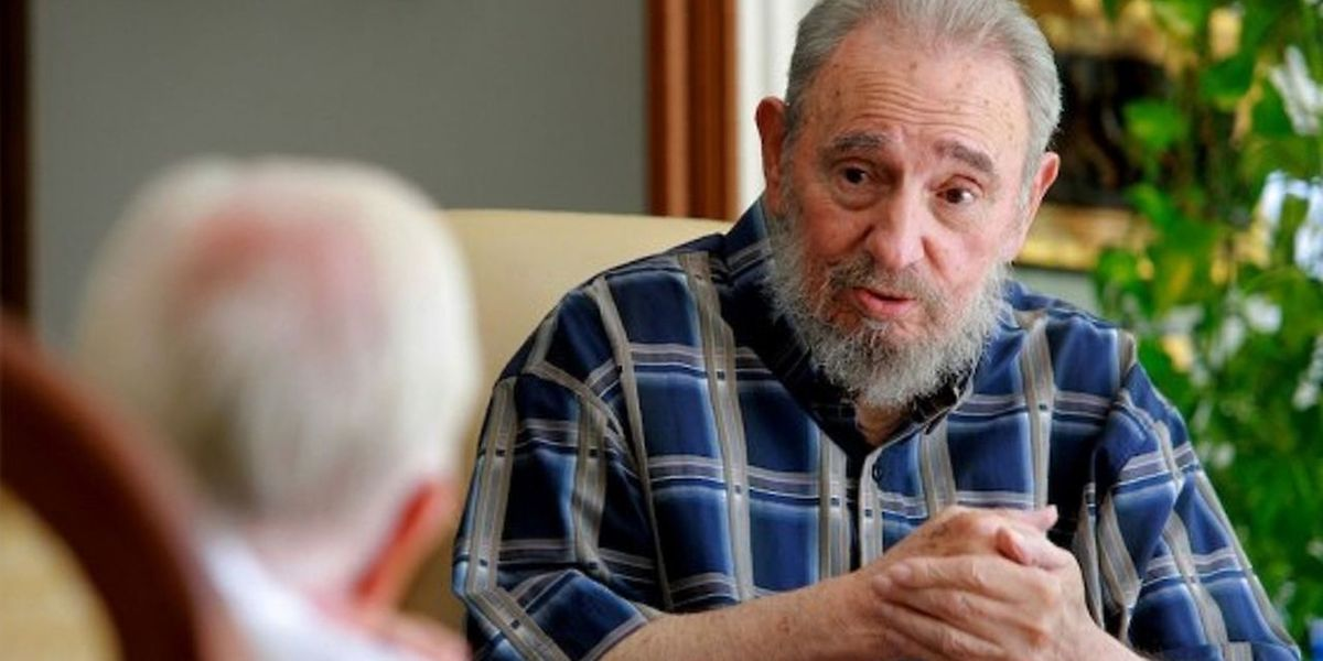 Fidel Castro à la télévision cubaine en 2011.