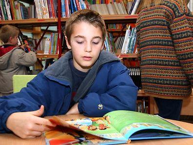 A leitura faz bem às crianças