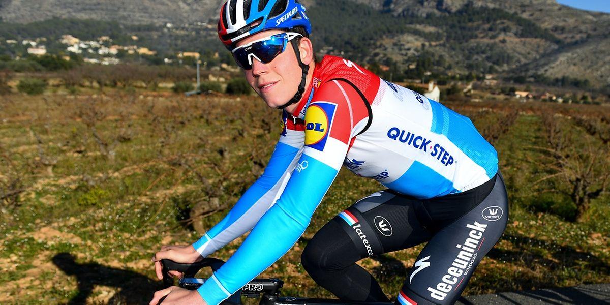 La première partie de saison de Bob Jungels s'annonce chargée avec les classiques et le Giro.