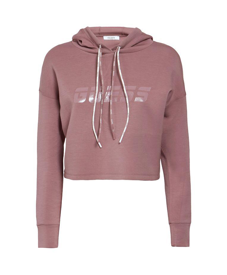 Für die Chill-out-Session nach dem Training: Sweater von Guess, um 79 Euro.