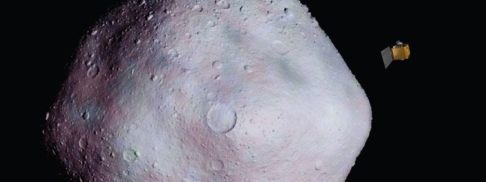 Die Osiris-Rex-Sonde der Nasa nähert sich dem Asteroiden 1999RQ36.