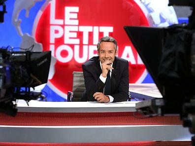 Yann Barthès à l'époque du Petit Journal, émission qu'il animait sur Canal+.