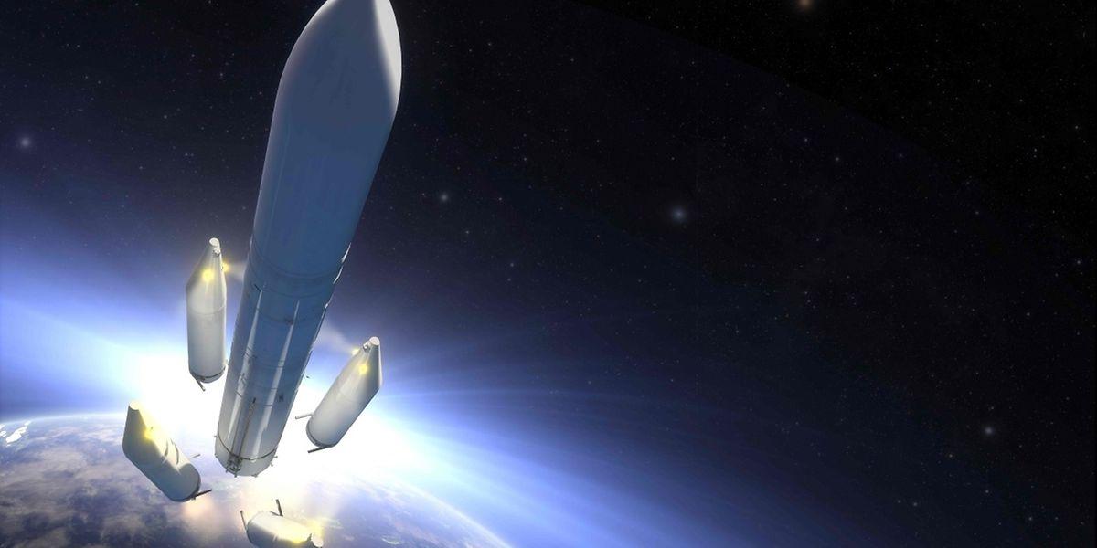 Le 53e satellite que mettra sur orbite le lanceur français est le premier satellite hybride (à orbite GEO et MEO), à la fois utile pour l'Amérique latine et l'Amérique du Nord, pour les avions et les bateaux de cette zone et pour la NASA.