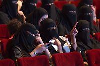 Ab März 2018 sollen die Bürger Saudi-Arabiens auch wieder regulär ins Kino dürfen - nicht nur wie hier zu Sondervorstellungen.