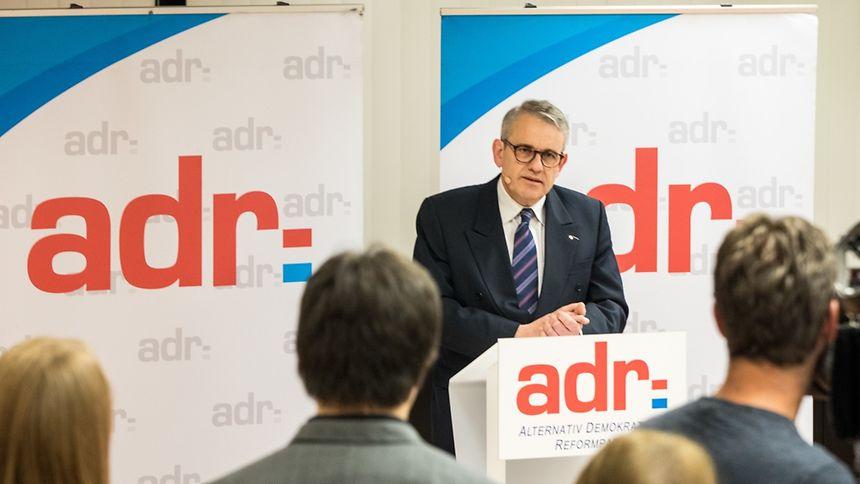 O ADR quer fazer parte do próximo Governo do Luxemburgo