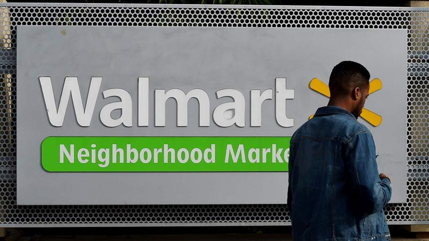 A Walmart store is seen on January 16, 2016 in Chinatown, Los Angeles, one of seven Walmart stores in Southern California and 269 stores across the globe that will close down due to company restructuring