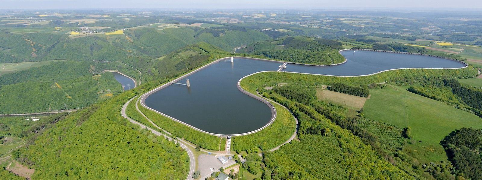 Öko-Energie aus dem Norden Luxemburgs: Das Pumpspeicherwerk Vianden zählt zu den größten seiner Art in Europa.