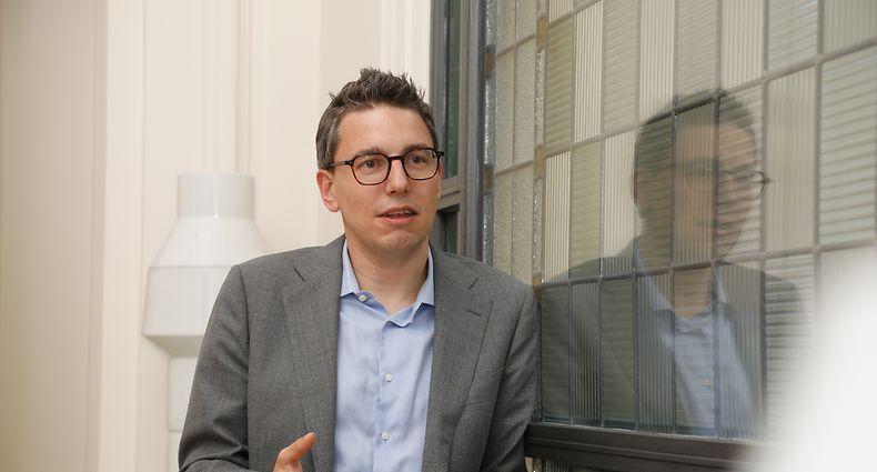 Politik, Sven Clement Piraten, Foto: Luxemburger Wort/Anouk Antony