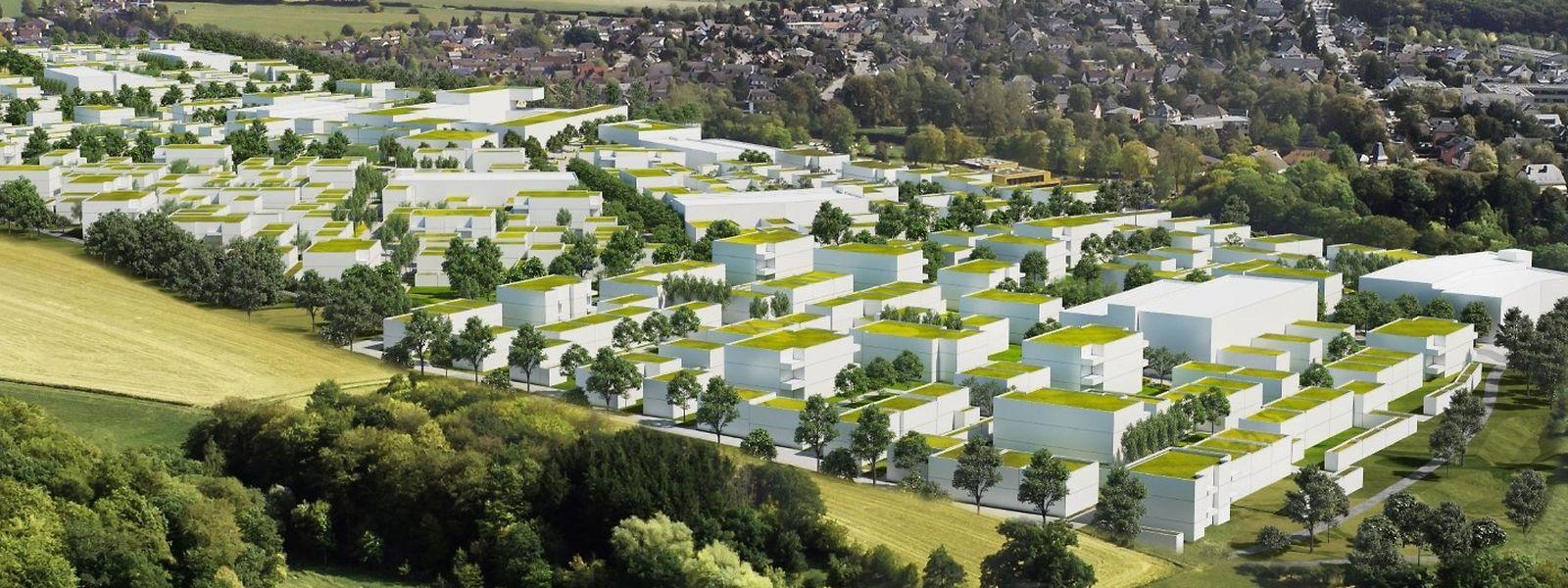 A compter de 2021, les premières habitations d'Elmen devraient être habitées, selon les prévisions de la SNHBM.