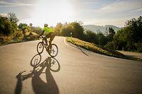 Die Straße ganz für sich. So mögen es Radfahrer am liebsten.