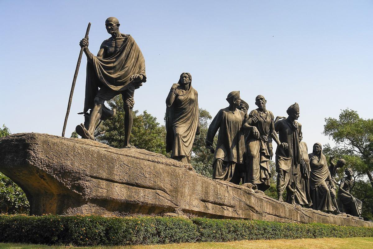Der Salzmarsch von 1930 war eine weiter Kampagne Mahatma Gandhis, die das Salzmonopol der Briten brechen sollte und letztlich zur Unabhängigkeit Indiens von Großbritannien führte.