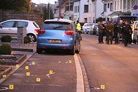 Akkident Wiltz Et misst en d´Nummer vum Auto wech maachen / Foto: Roland ARENDT