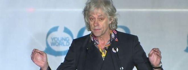 Bob Geldof nahm - wie zu erwarten- kein Blatt vor den Mund.