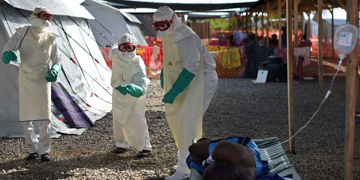 In Liberia wurde die Ebola-Epidemie bereits im September für beendet erklärt.