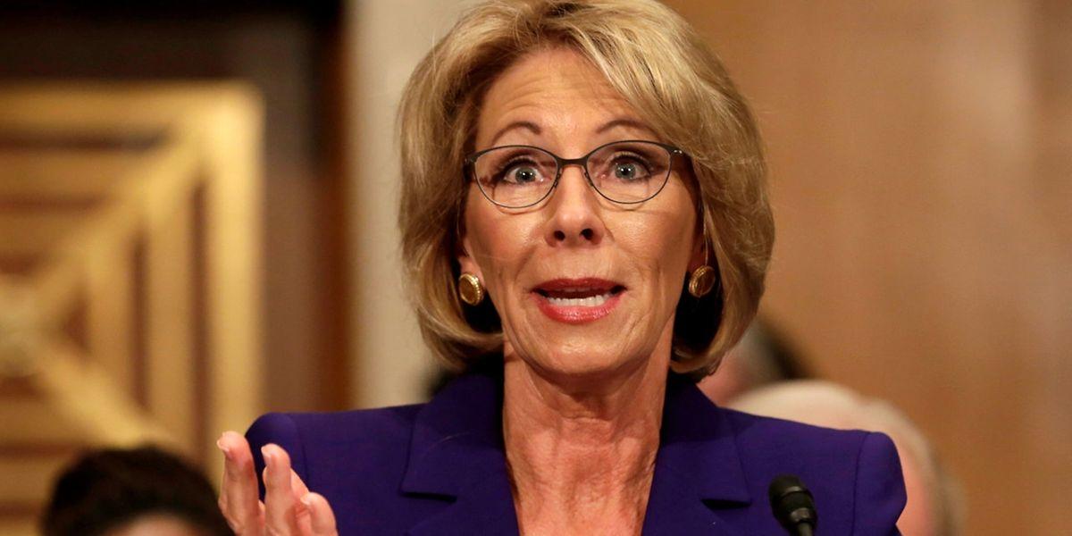 Die Milliardärin Betsy DeVos hat keine Erfahrung mit dem Bildungswesen.