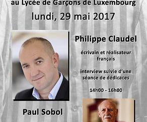 Rencontre particulière au Lycée de Garçons de Luxembourg
