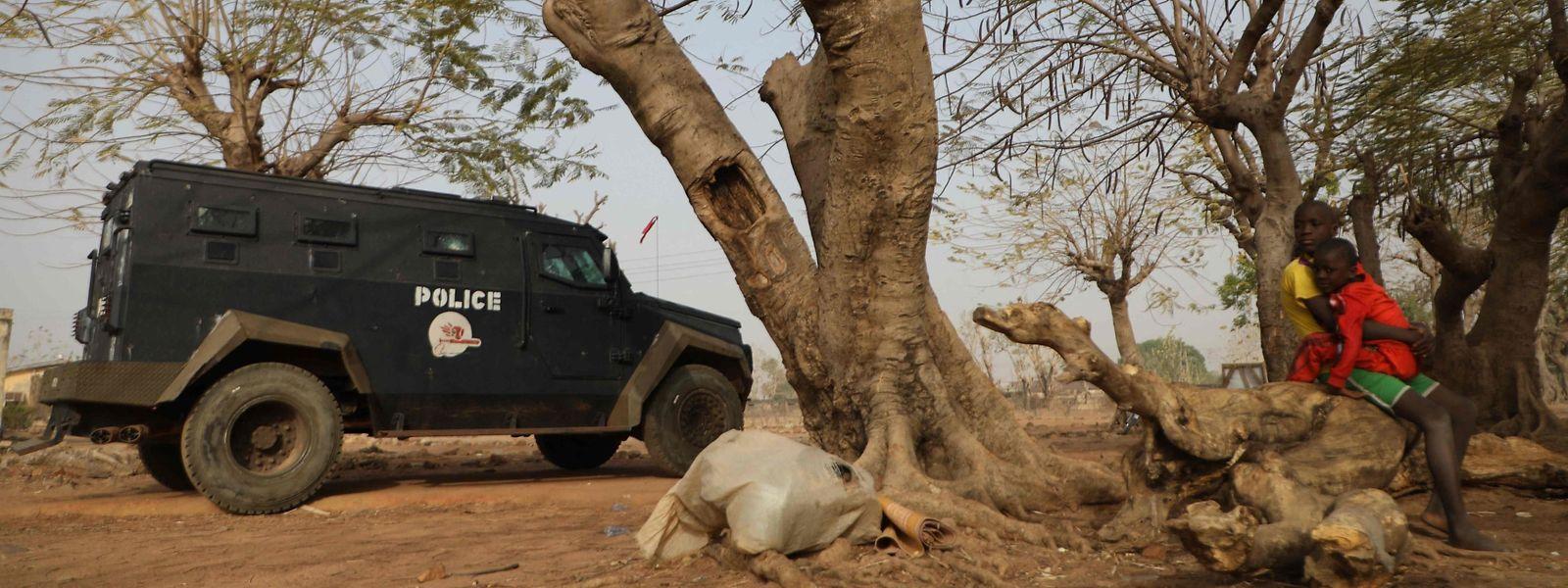 In Nigeria wurden erneut hunderte Schulkinder entführt.