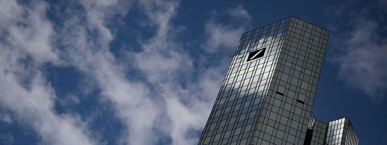 Deutsche Bank no Luxemburgo.