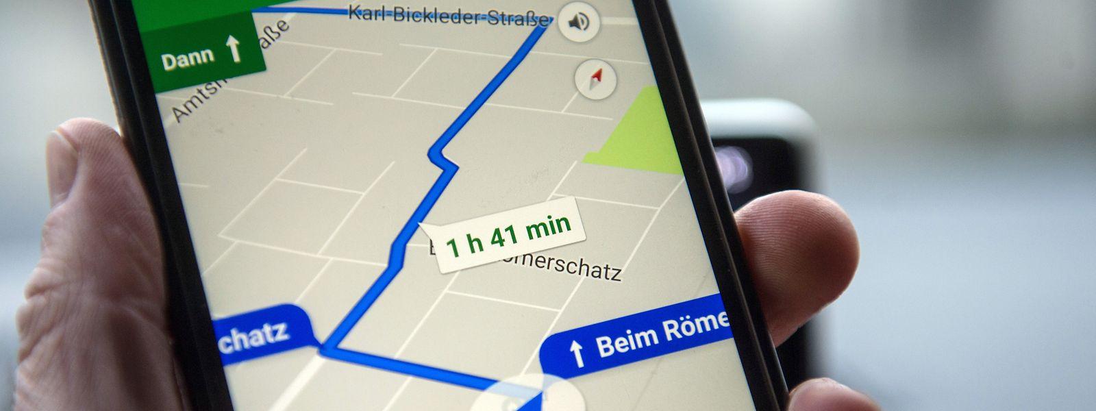 Digitale Karten wie jene von Google Maps sind nicht mehr aus dem Alltag wegzudenken. Doch der Datenhunger der Apps wirft Fragen auf.