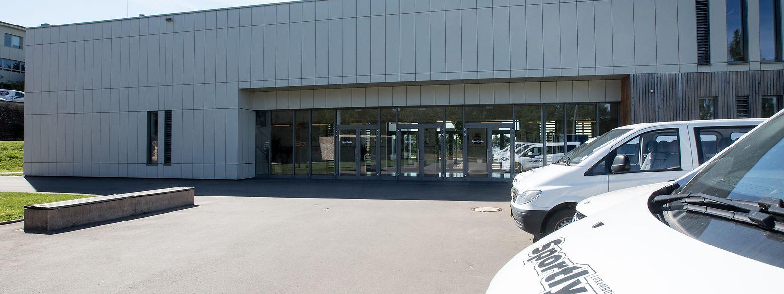 Das Sportlycée-Gebäude in Fetschenhof ist an seine Grenzen gestoßen.