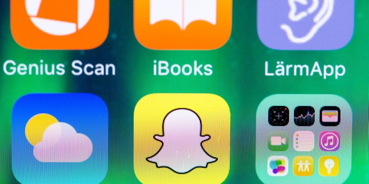 Kleiner weißer Geist auf gelbem Grund - Snapchats große Stärke ist die Flüchtigkeit der verschickten Nachrichten.