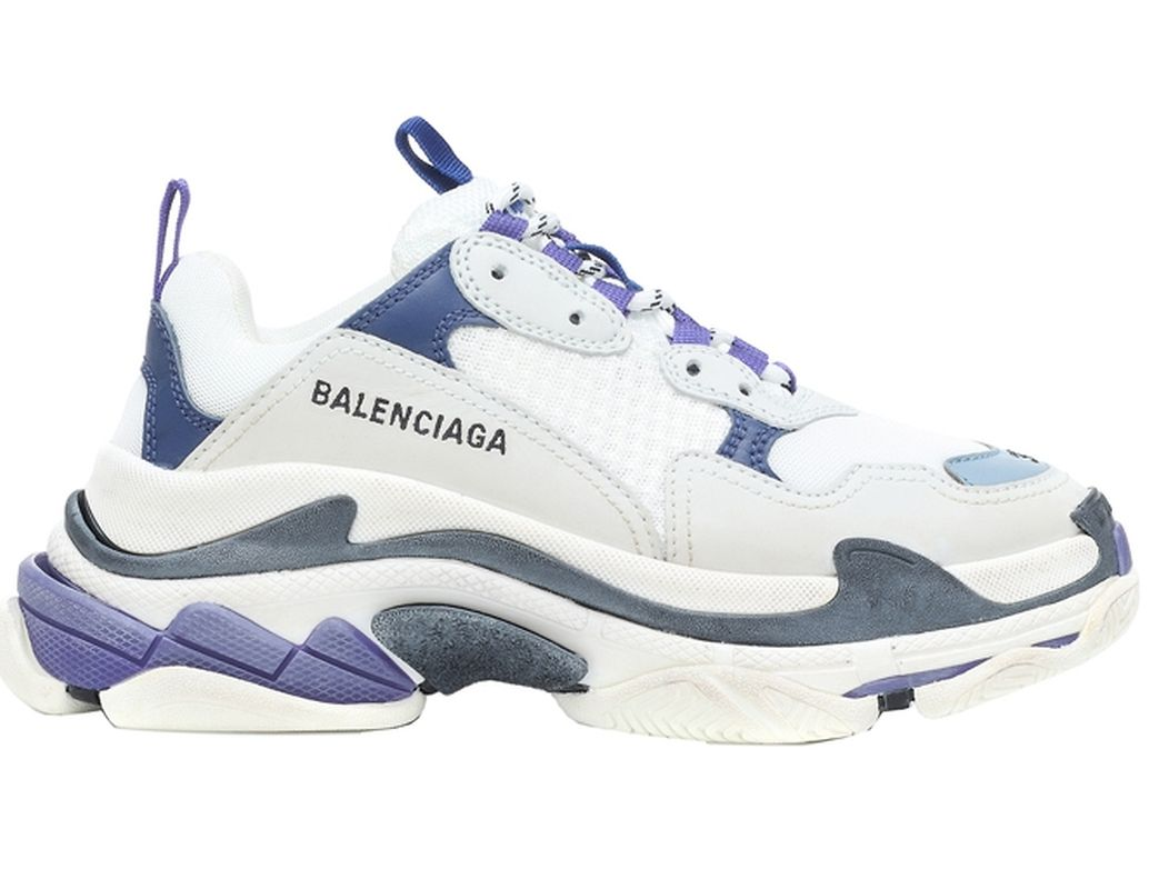 Der wohl derzeit angesagteste Schuh: Ugly Sneaker von Balenciaga, 695 Euro über Mytheresa.com.