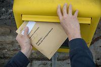 Mehr als 40.000 Wähler haben sich für die Briefwahl entschieden.