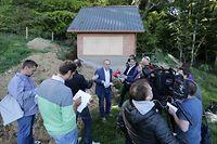 Lokales,  Conference de Presse Roberto Traversini, batisse du 15 A route de Petange,  Chris Karaba/Luxemburger Wort