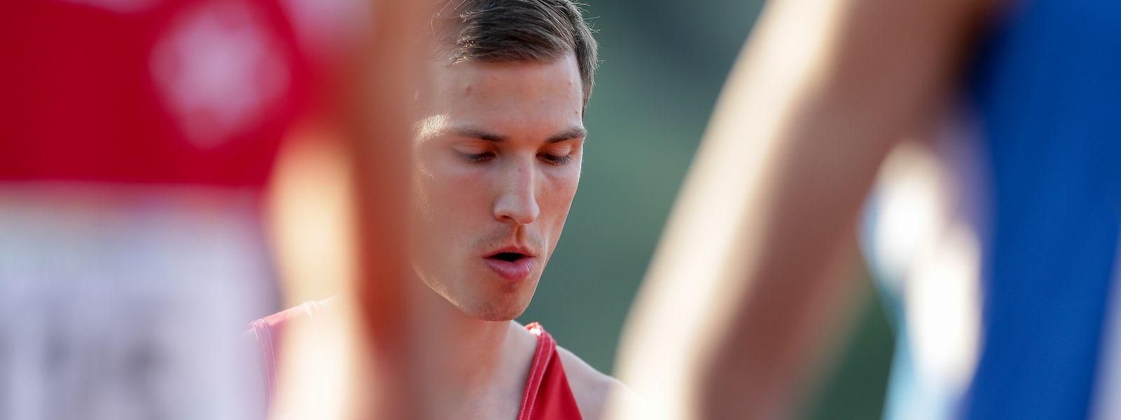 Charles Grethen fiel dem langsamen Rennen zum Opfer.