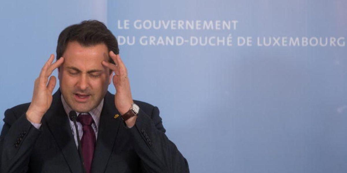 Xavier Bettel está na mira do maior partido da oposição, o CSV