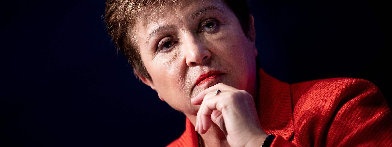 IWF-Chefin Kristalina Georgiewa erwartet düstere Zeiten für die Weltwirtschaft.