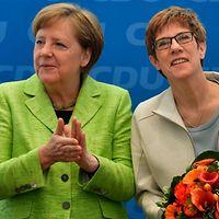 Alemania: Gobernadora recibe apoyo de Merkel para asumir dirección de UDC