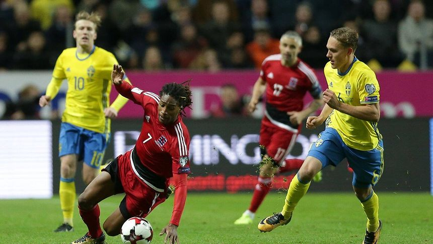 Sweden put eight goals past Luxembourg in World Cup qualifier
