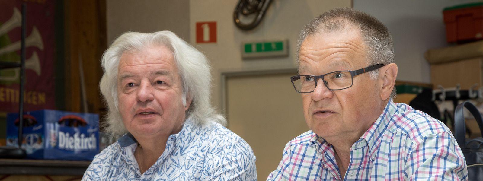 Aloyse Jacoby (l.) und Nico Kaufmann.