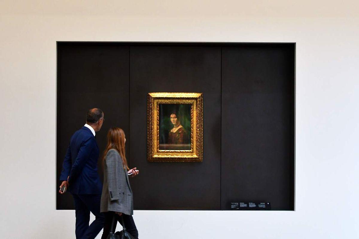 """""""La Belle Ferronnière"""" de Léonard De Vinci"""