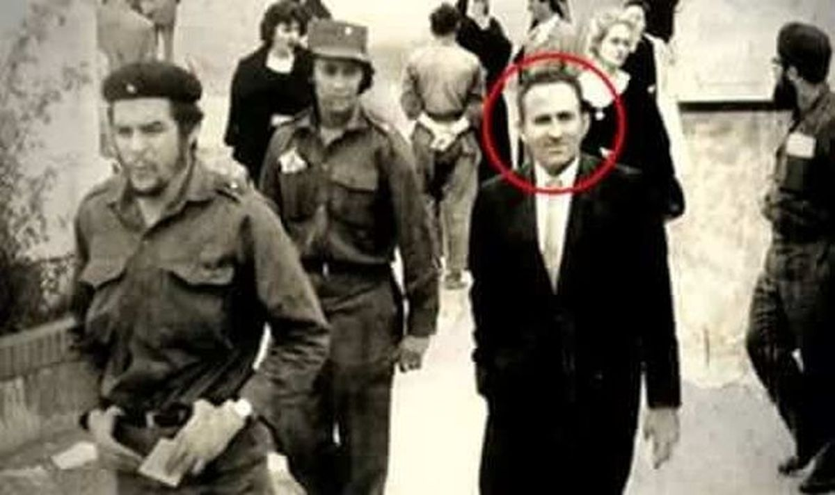Ao lado de Che Guevara