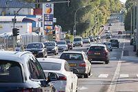 12.9. Schouweiler / Gemeinde Dippach / Verkehrsaufkommen / Diskussion Contournement Dippach Foto:Guy Jallay
