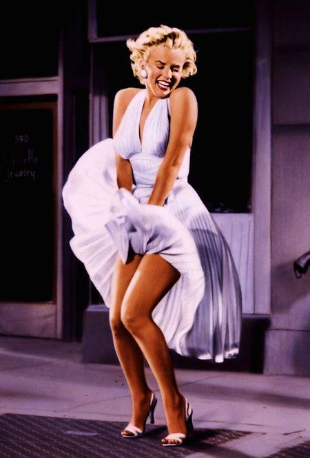 L'actrice Marilyn Monroe en 1955 dans le film «The Seven Year Itch» qui donne le coup d'envoi du festival cette année.
