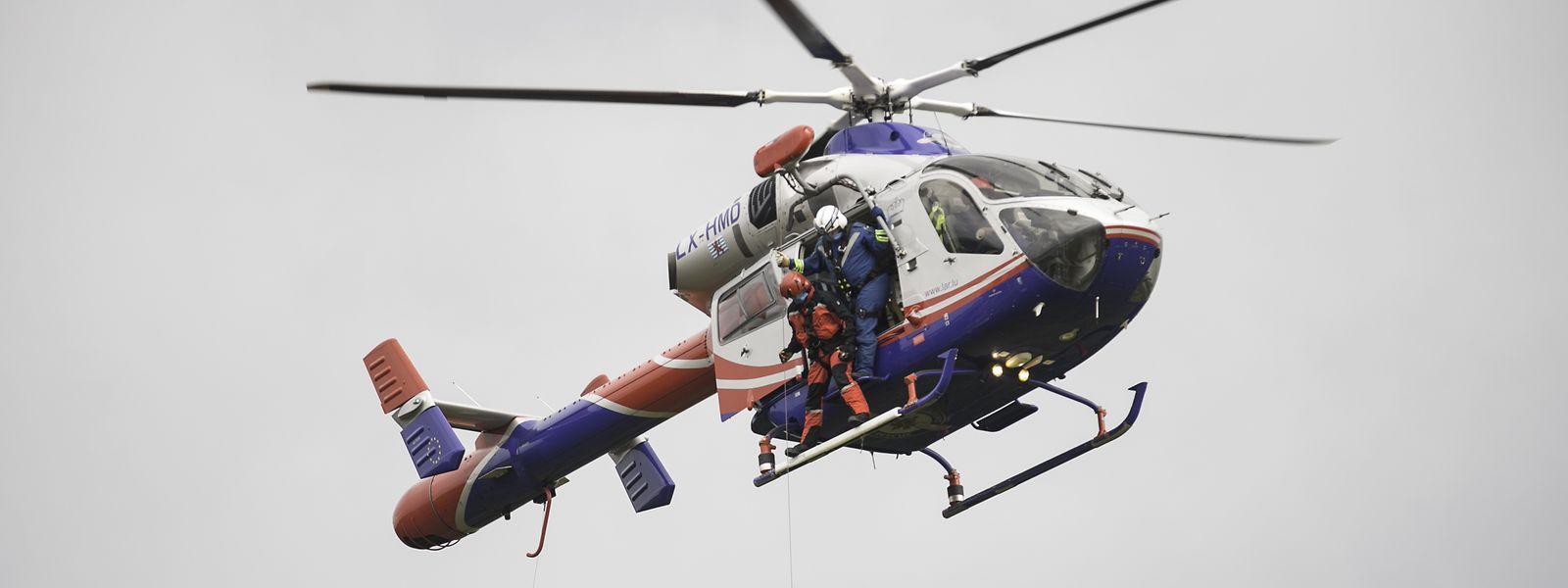 Pilot und Winch-Operator sind bei den Einsätzen mit der Rettungswinde besonders gefordert.