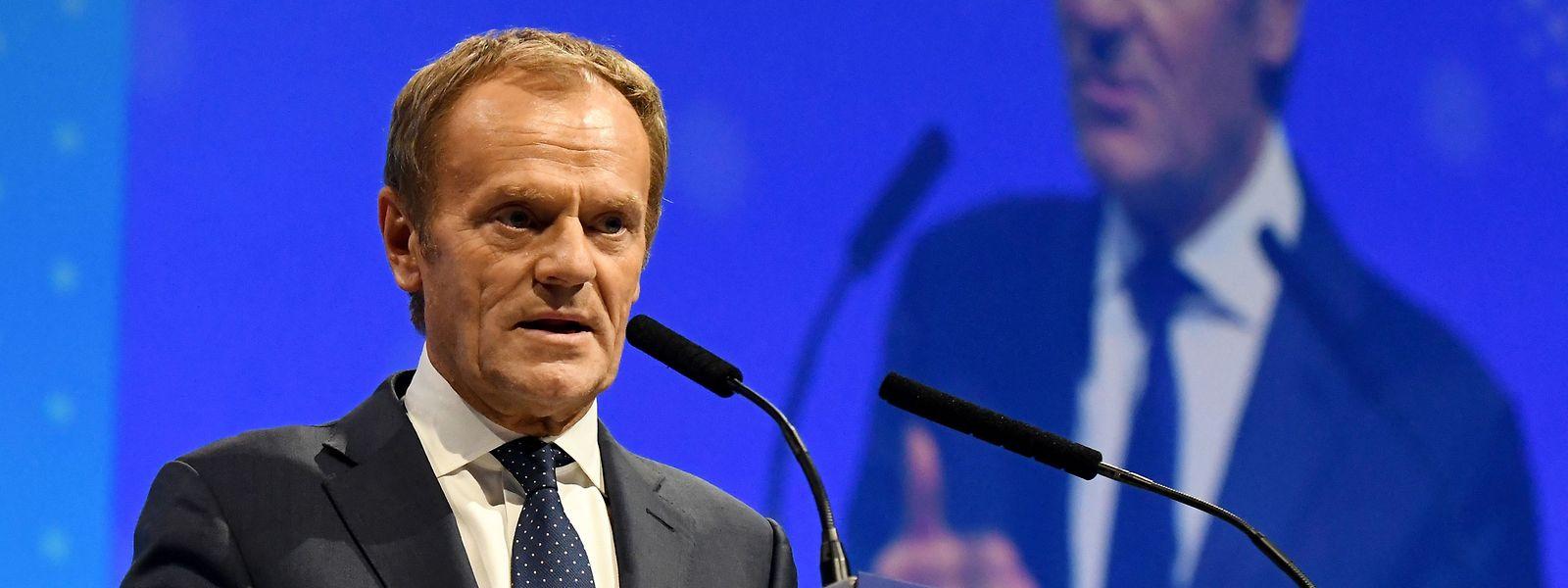 Donald Tusk attackierte den Kurs des ungarischen Ministerpräsidenten Orban.