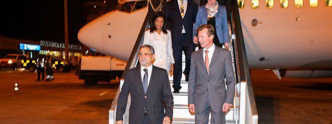 Le grand-duc Henri a été accueilli par le président du Cap Vert, Jorge Carlos Fonseca