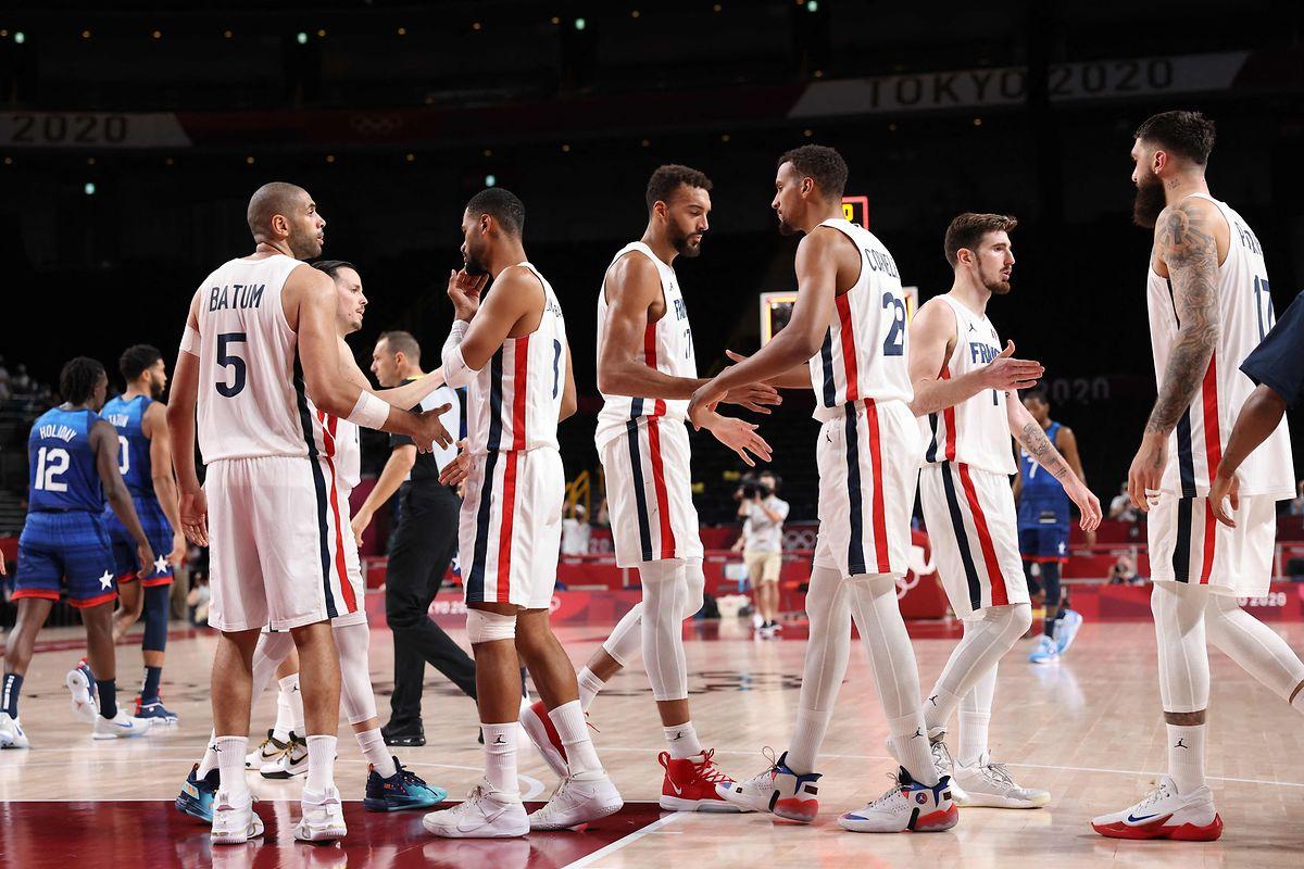 Frankreich startet mit einer starken Leistung ins Turnier.