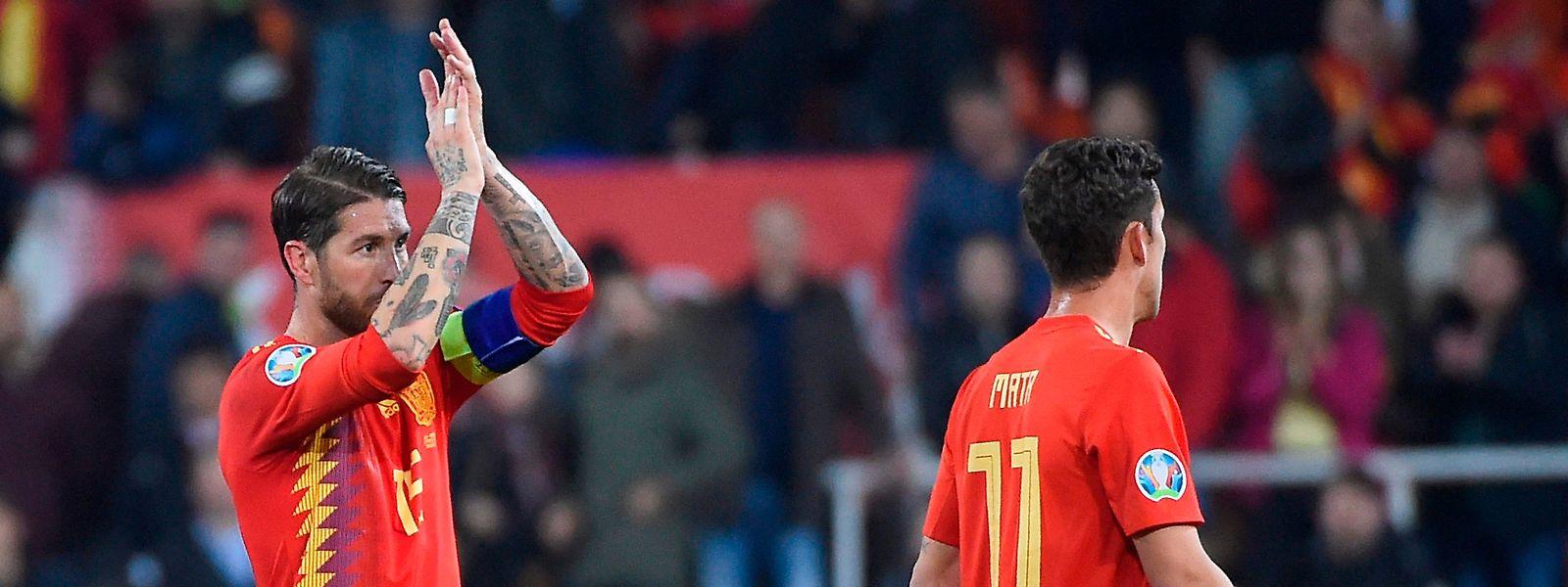Une panenka de Sergio Ramos a donné la victoire à la Roja.