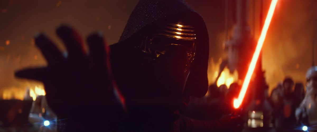 Der neue Darth Vader - die Ähnlichkeit ist definitiv nicht zufällig.